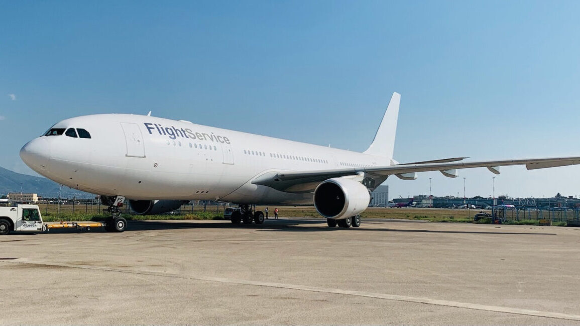 AELF FlightService Adds Fourth A330 to Fleet, Delivers COVID-19 Supplies in First Flight