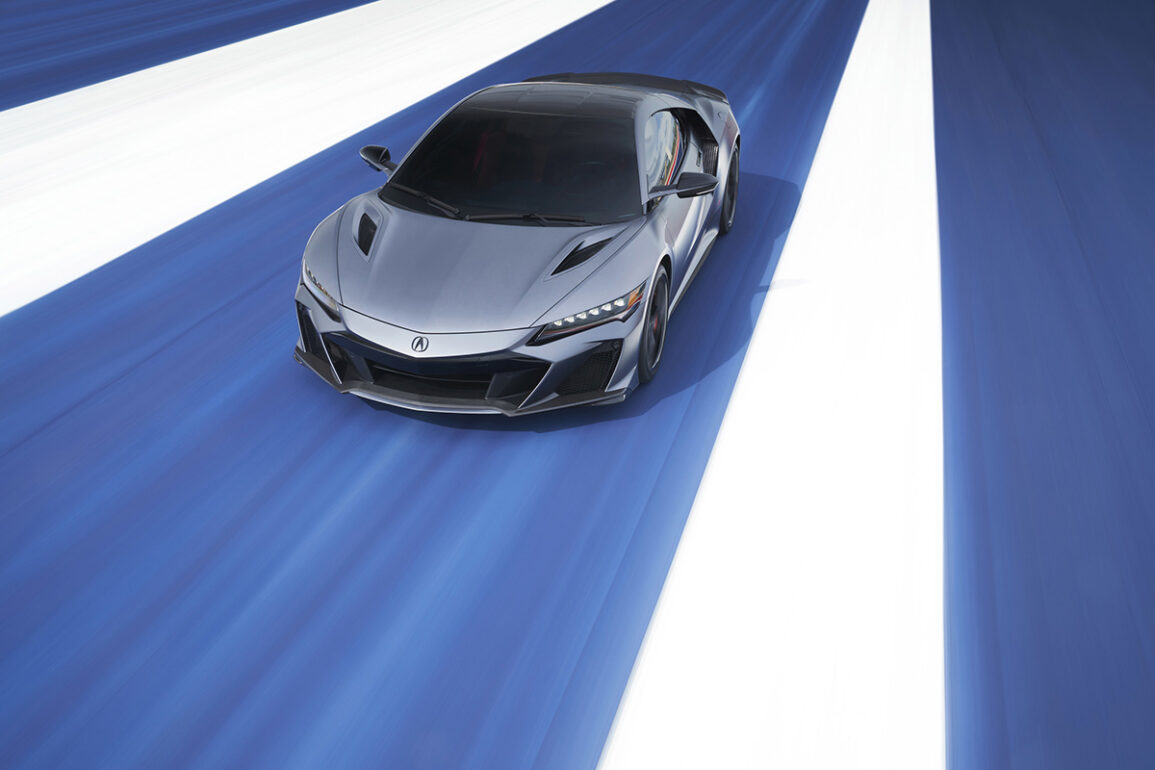 Acura Debuts Limited Production 600hp NSX Type S at Monterey Car Week