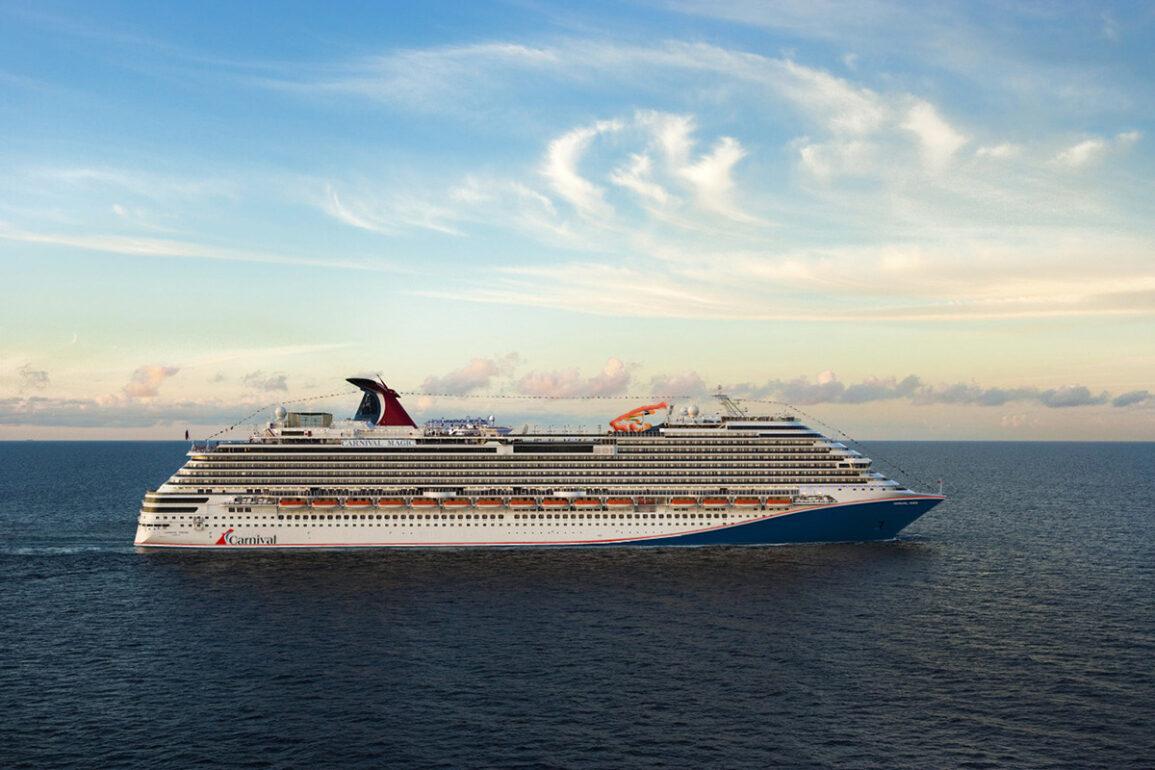 Carnival Cruise Line Announces New Red, White & Blue Hull Design Across Fleet