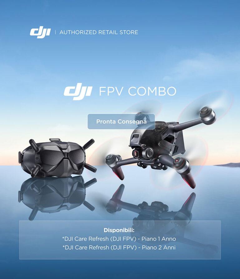 DJI Introduces FPV Combo Drone