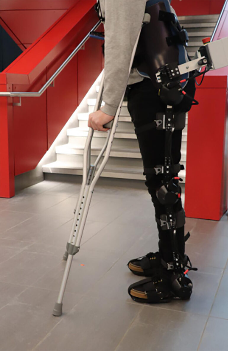 Engineers Combine AI and Wearable Cameras in Self-Walking Robotic Exoskeletons