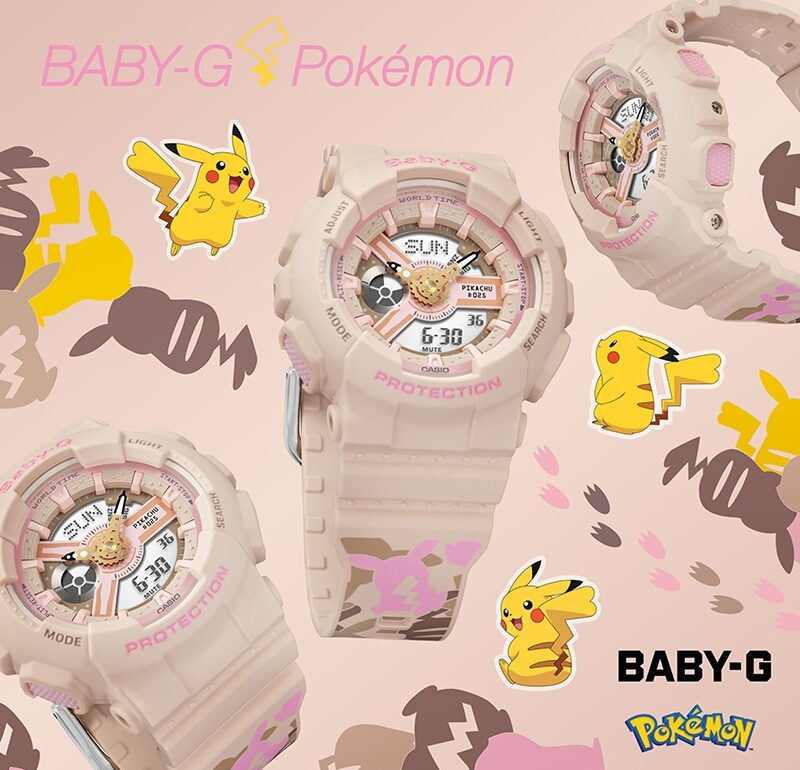 G-SHOCK Unveils Latest BABY-G Collaboration With Pokémon