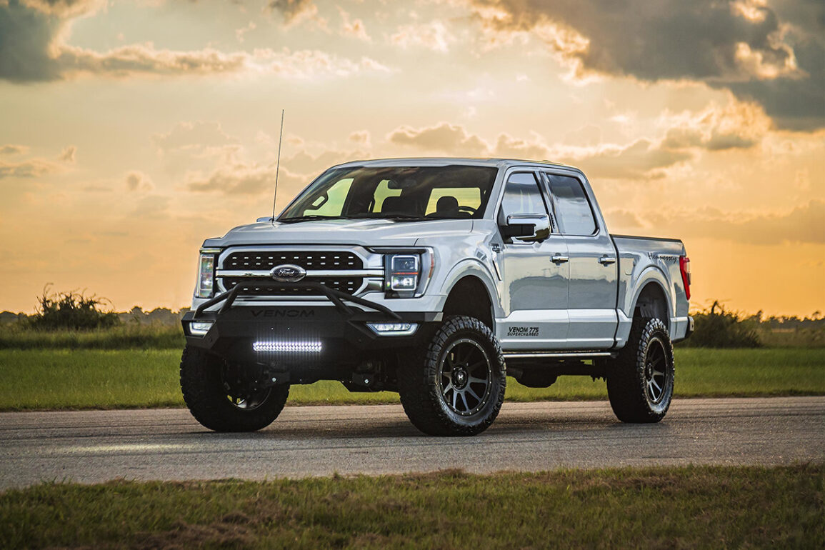 Hennessey Unleashes Ford Performance With Venom 775 F-150