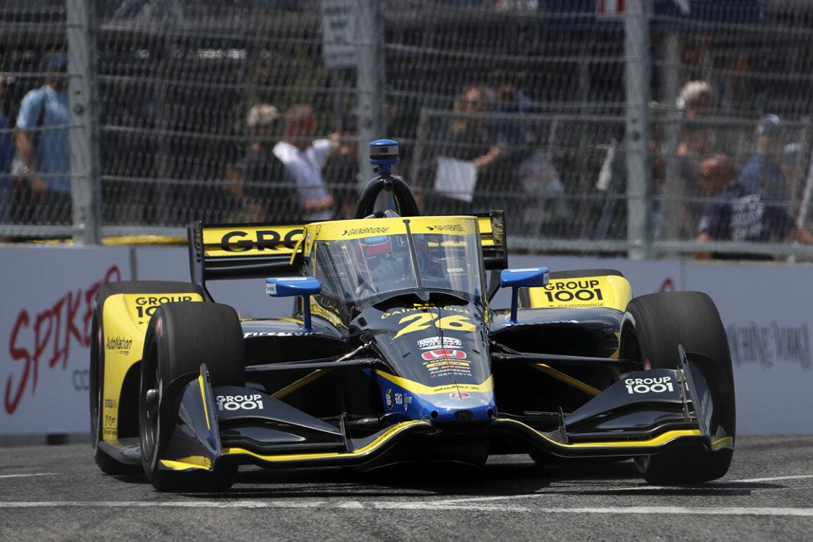 Honda, Herta Dominate Qualifying for Inaugural Music City Grand Prix