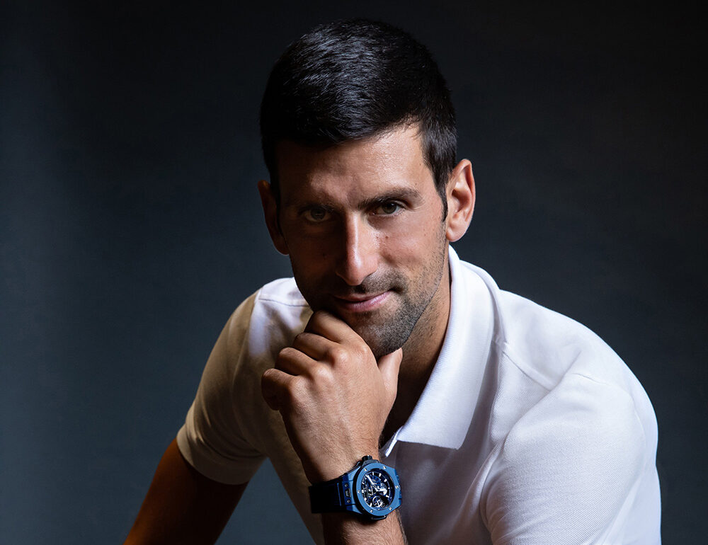 Hublot Signs Novak Djokovic as New Ambassador