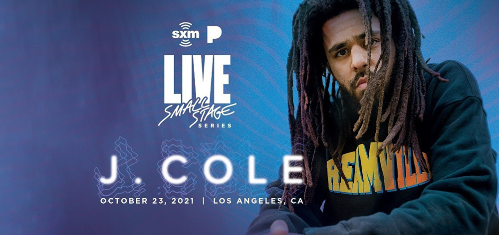 J. Cole to Perform in Los Angeles for SiriusXM and Pandora's Small Stage Series