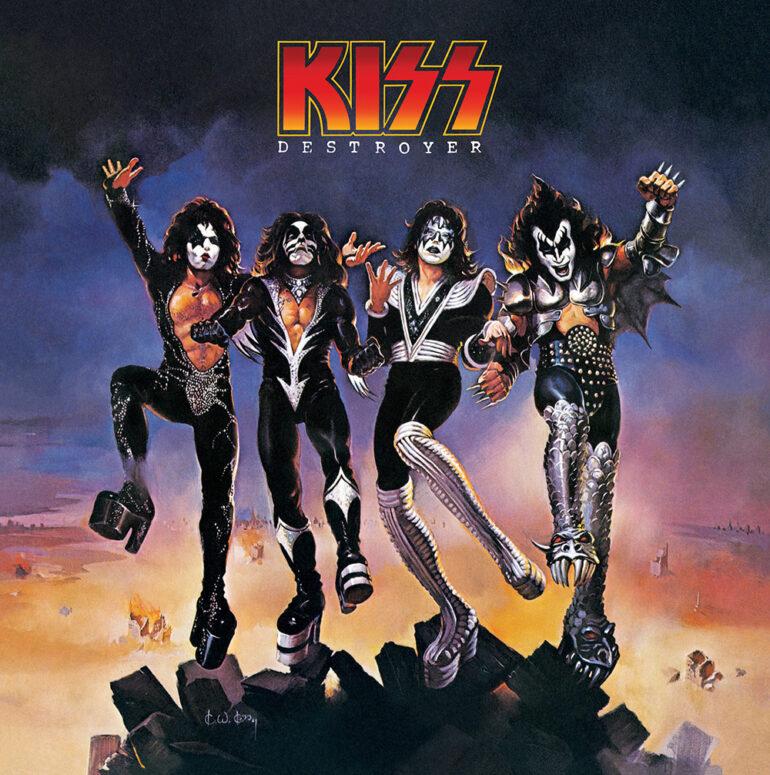 KISS Re-Issue Multi-Platinum Destroyer 1976 Album