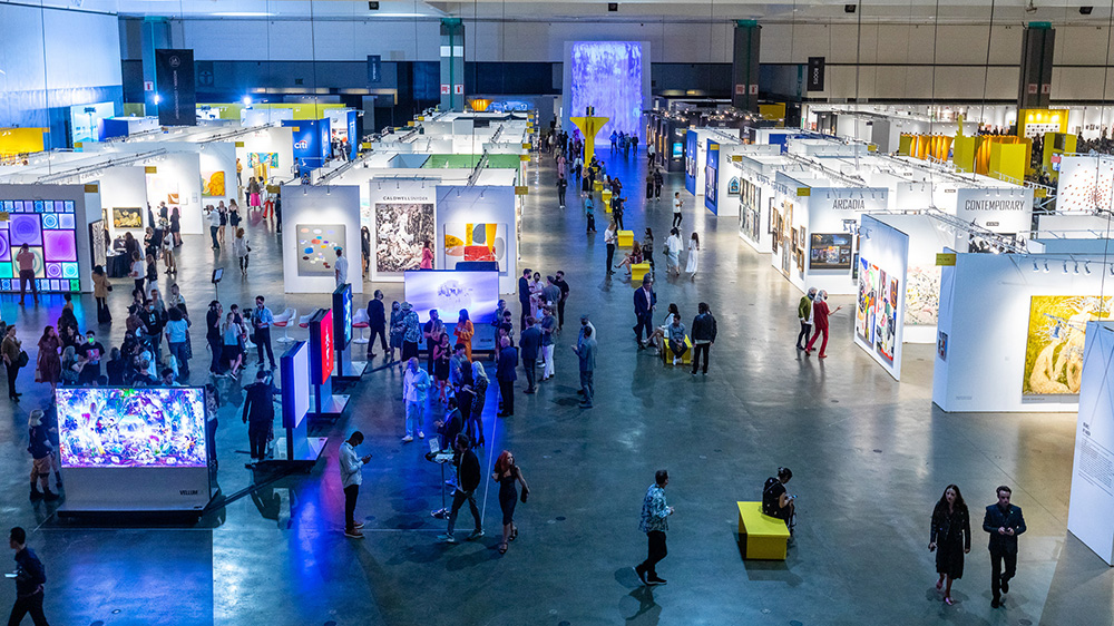 LA Art Show Returns to the Los Angeles Convention Center January 2022