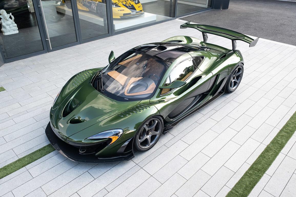 Lanzante and O'Gara Announce Partnership and Present McLaren P1 HDK