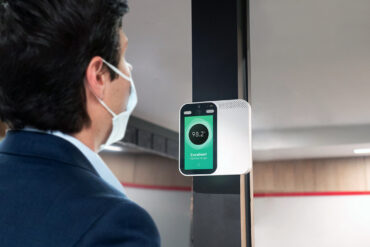 LivMote by SHARP: Touchless Solution Allows Secure Temperature and Mask Checks for Safer Workspace Reopening
