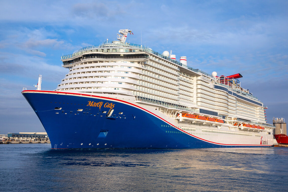 Mardi Gras by Carnival Cruise Line Departs on Maiden Voyage From Port Canaveral