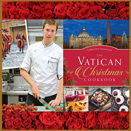 New Christmas Cookbook by Former Swiss Guard and Acclaimed Chef David Geisser