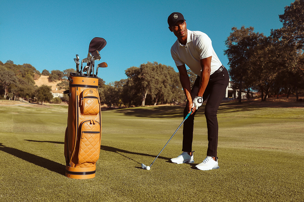 New Luxury Leather Golf Bag 'The Kennedy Line' Redefines Style in the Sport
