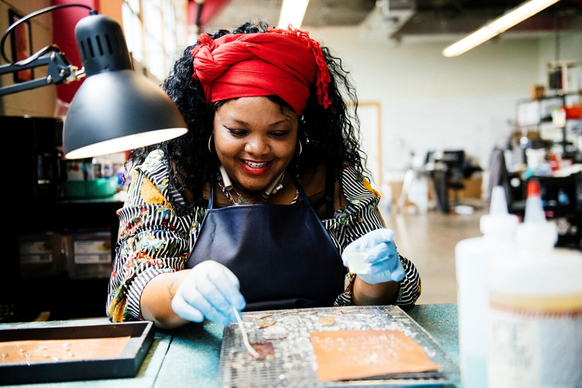 Rebel Nell's Social Enterprise Model Creates Equitable Opportunities for Women With Barriers and Creates Unique One of No Other Kind Products