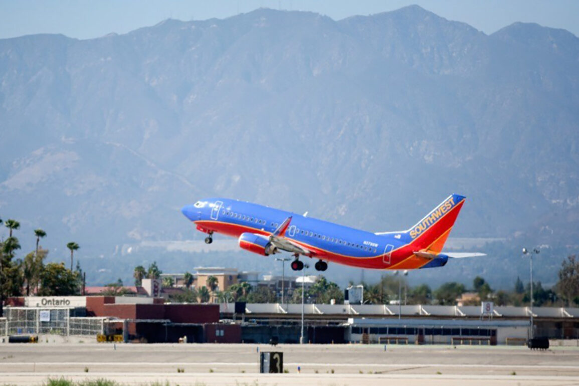 Southwest Airlines Will Fly From Ontario International Airport, CA, to Austin in 2022