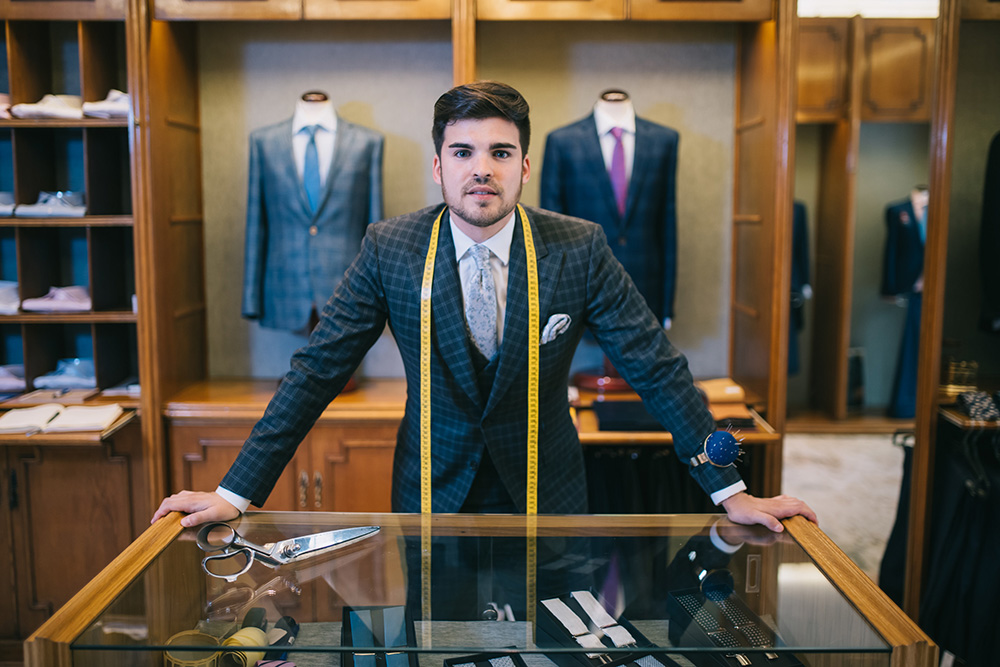 Spanish Tailor Adrián Seligra Launches a Brand New Book About the Future of Men's Fashion