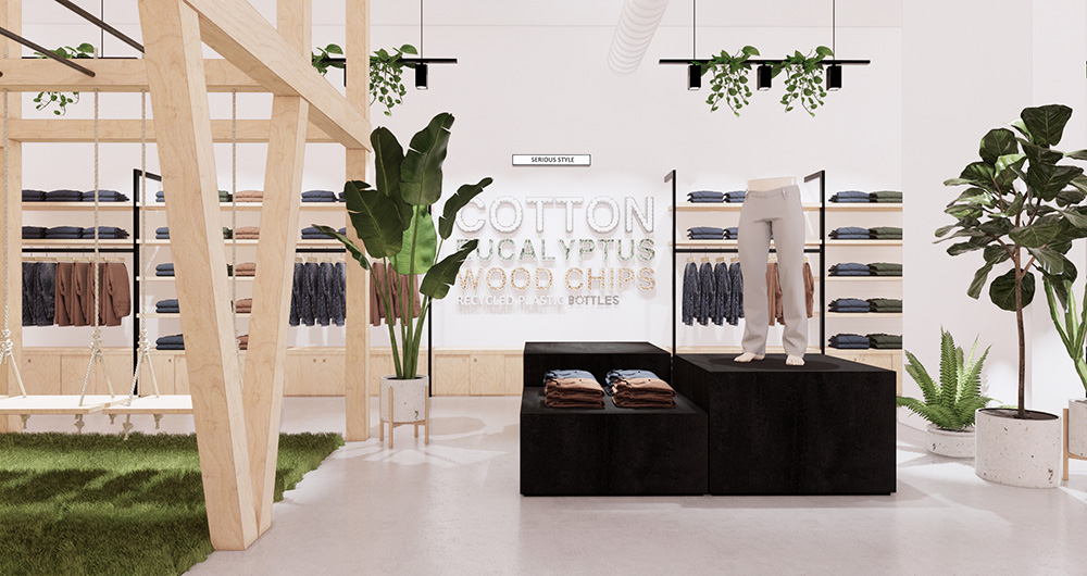 Vancouver Performance Jeanswear Co. DUER Opens Sensory Concept Store