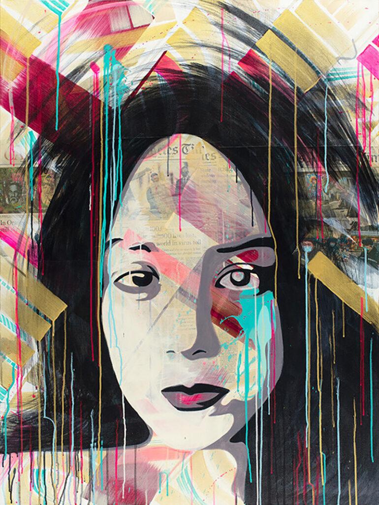 Zak Perez Debut Solo Exhibition at Nottingham Gallery